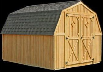 Better Built Portable Barn Storage Building
