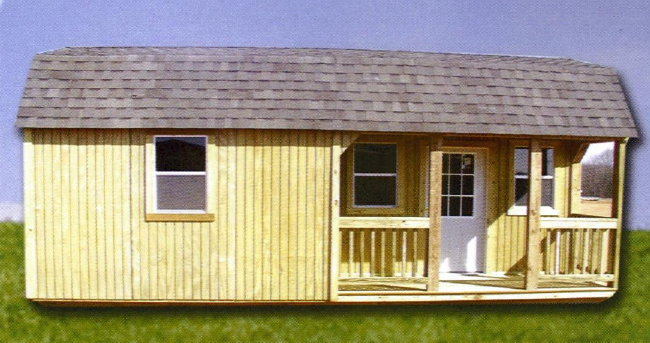 Portable Storage Buildings Wood : Portable wood storage garage building barn shed ebay