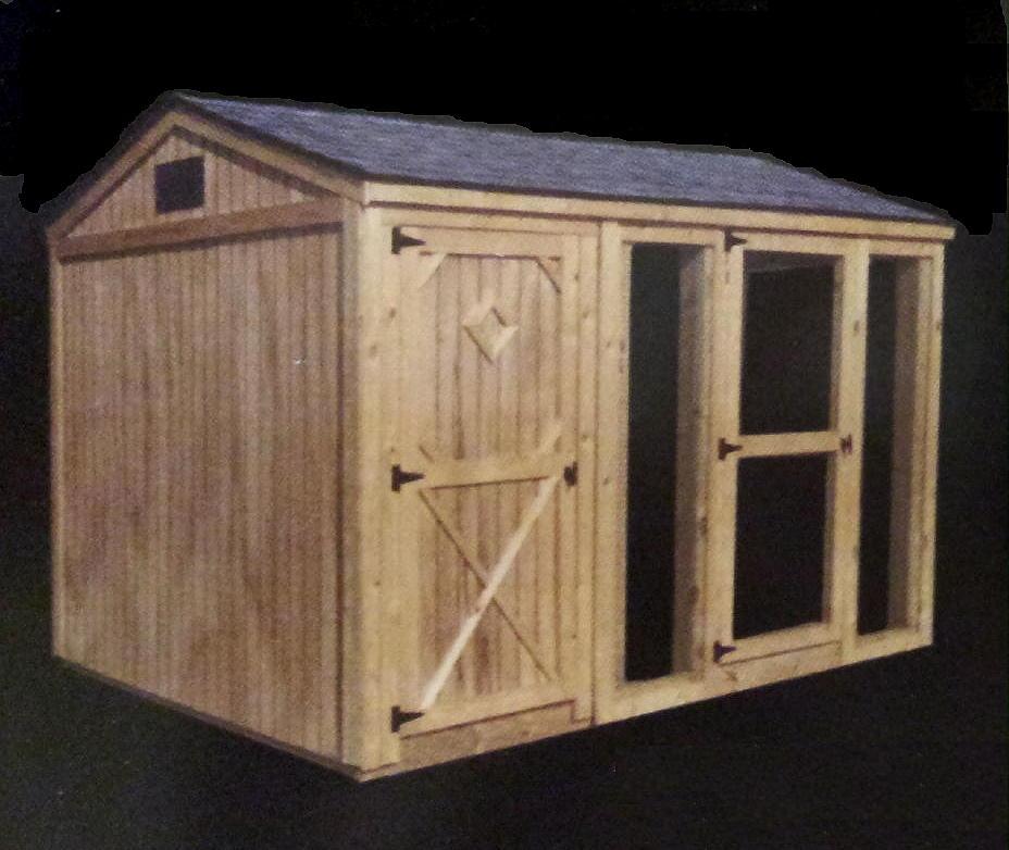 Popular how to built chicken coop diy chicken coop for Portable dog kennel building