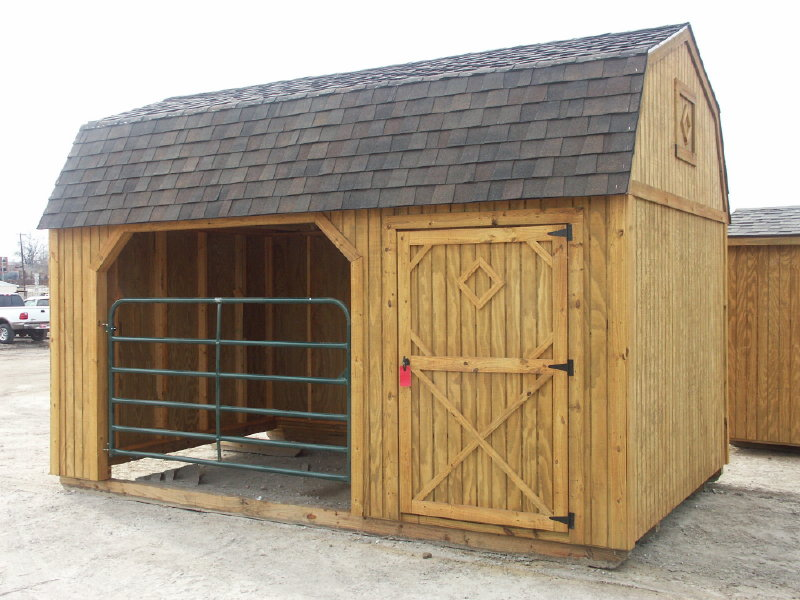 Livestock sheds by better built portable storage buildings for Small portable shed