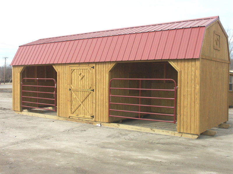 Livestock Sheds by Better Built Portable Storage Buildings, Wichita, Kansas