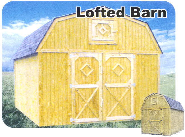 Better Built Portable Lofted Barn Storage Building