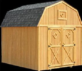 Better Built  Lofted Barn Storage Shed