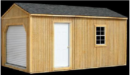 Better Built  Garage  Shed