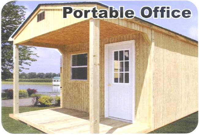 12x30 portable wood storage garage building barn shed ebay for Portable shed office