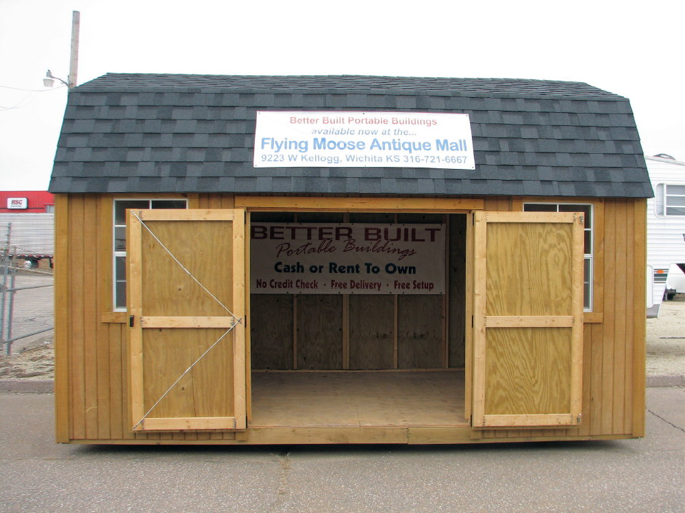 Portable Side Loft Barn By Better Built Portable Storage